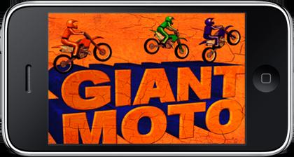 Giant Moto iPhone